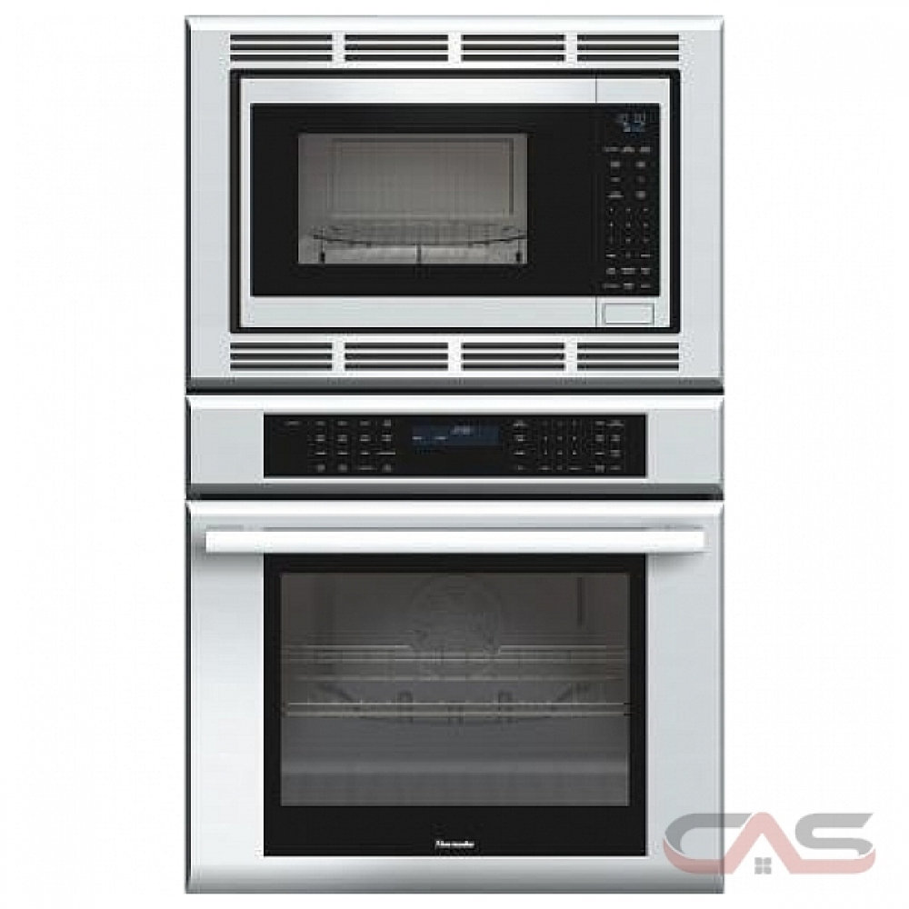 thermador masterpiece series medmc301js microwave wall oven 30 exterior width self clean both compartments convection temperature probe 6 2