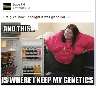 The kind of woman Dave FM finds is worthy of mockery