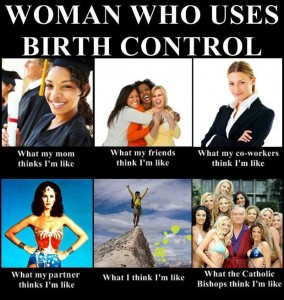Woman Who Uses Birth Control