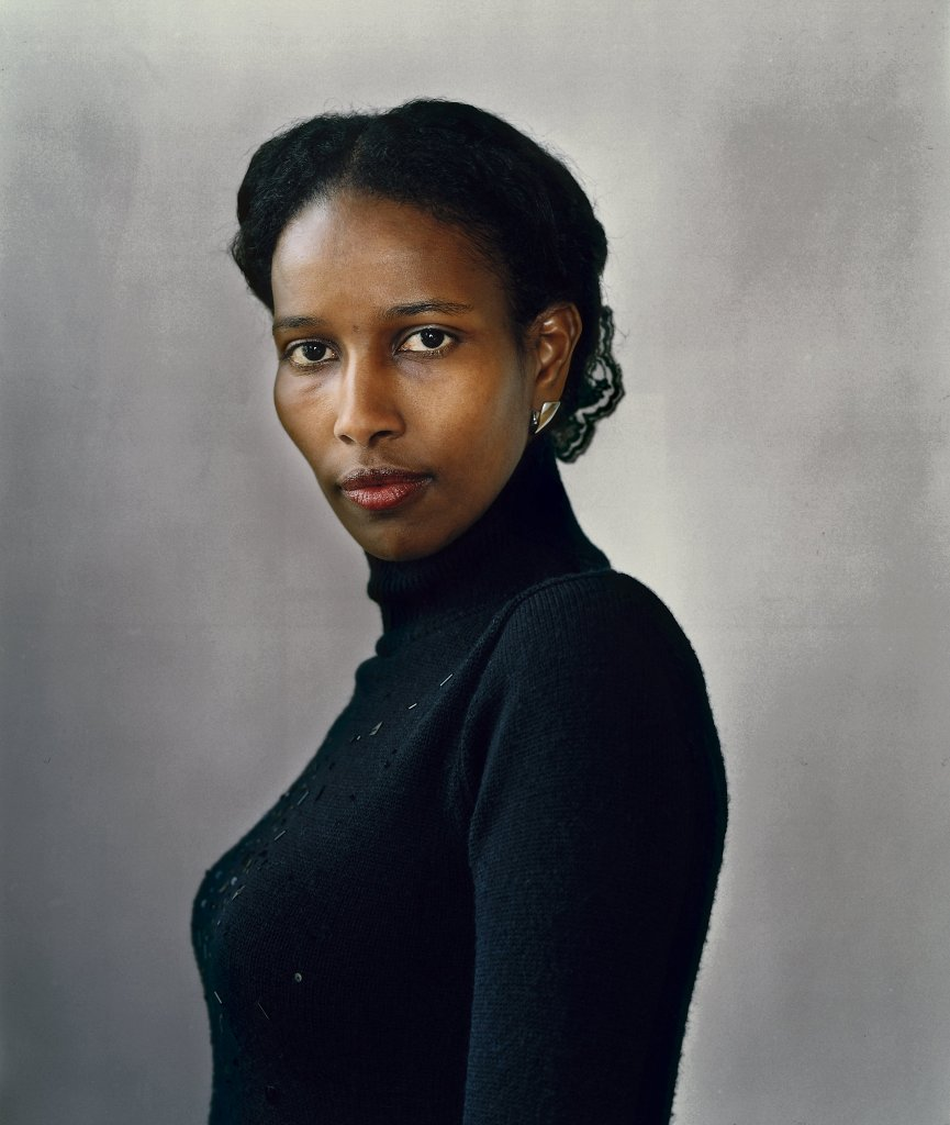 [Photo of Ayaan Hirsi Ali]