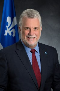 [Photo of Philippe Couillard]