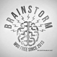 [Logo of the Brainstorm Podcast.]