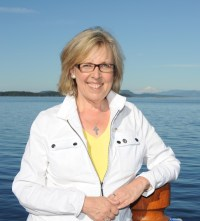 [Photo of Elizabeth May.]