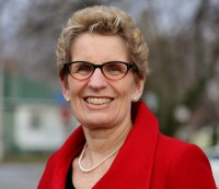 [Photo of Kathleen Wynne.]