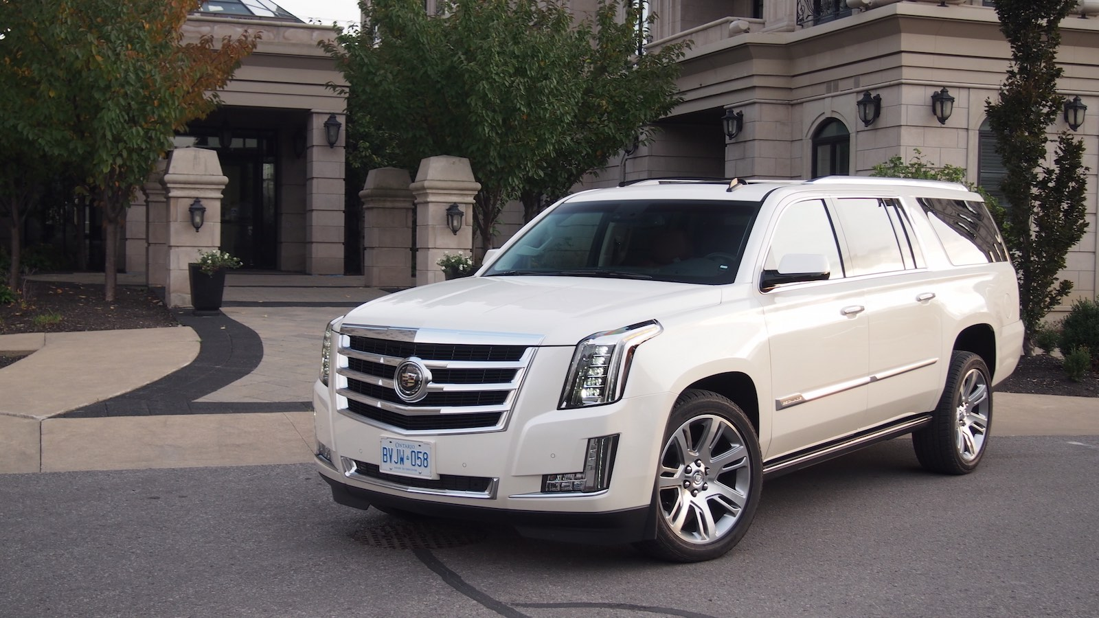 Cadillac Escalade White Diamond
