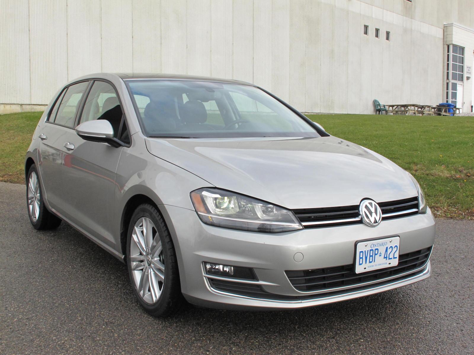 Review Volkswagen Golf 1 8t Highline