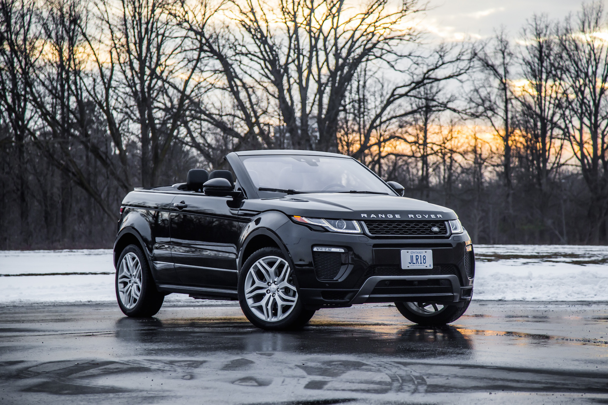 Review 2017 Range Rover Evoque Convertible