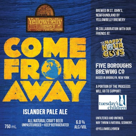 yellowbelly brewery releases come from