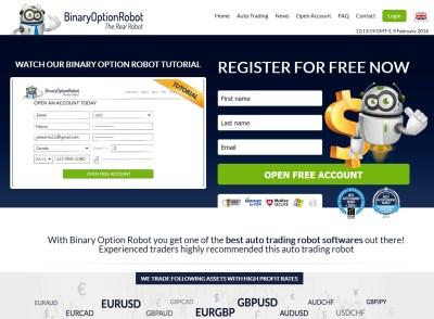 Binary Option Robot Screen