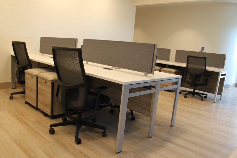 Open workstations.