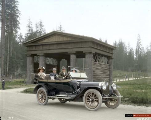 Lumberman's Arch - Stanley Park 1913