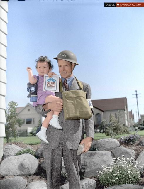 Colourized Photograph