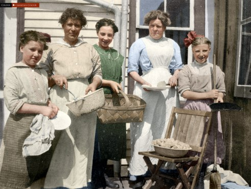 St Christopers House - Colourized Photograph