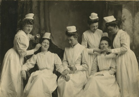 Nurses 1904 - Original Photograph