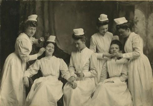 Nurses 1904 - Original Photograph