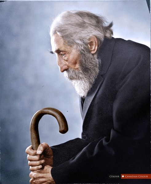 Rev Bredlow - Colourized Photograph
