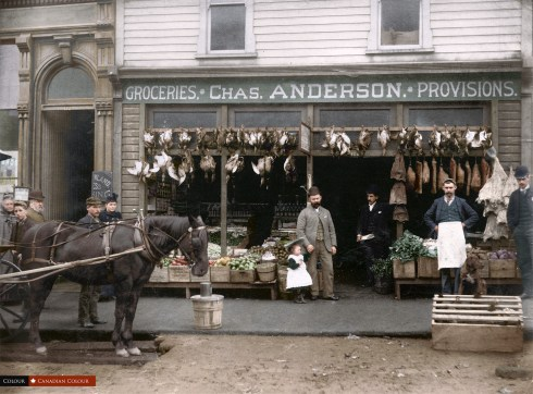 Chas Anderson - Colourized Photograph