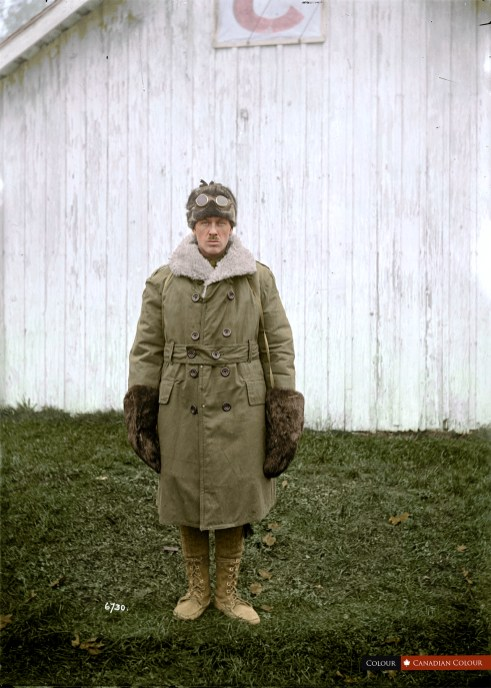 CSEF Officer - Colourized Photograph