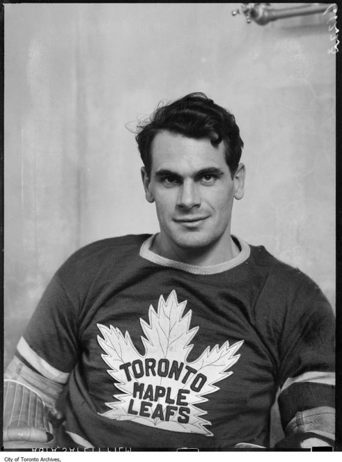 Syl Apps - Toronto Maple Leafs - Original Photograph