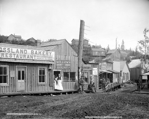 Rossland 1895 - Original Photograph