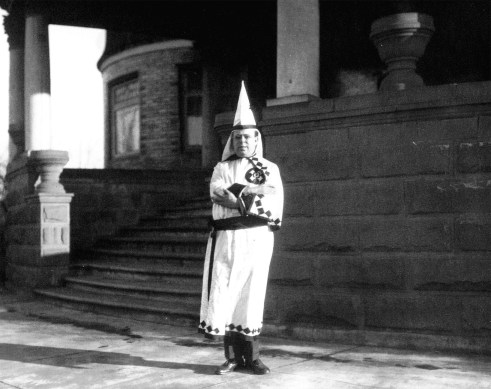 Ku Klux Klan Member - Original Photo