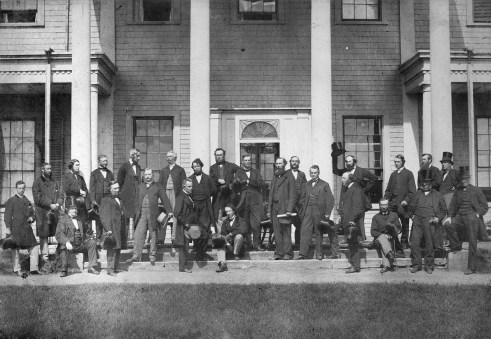 Charlottetown Conference - Original Photograph