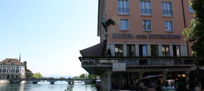 A Hotel With Some Serious History- Storchen Zurich