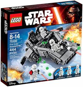Star Wars The Force Awakens Lego - Snow Speeder
