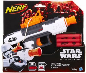 Nerf Star Wars Force Awakens Villain Trooper Blaster