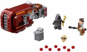 Star Wars Force Awakens Lego - Ray's Speeder