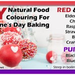 DIY Natural Food Colouring for Valentine's Day