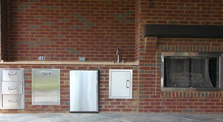 Building Your Outdoor Kitchen - Storage