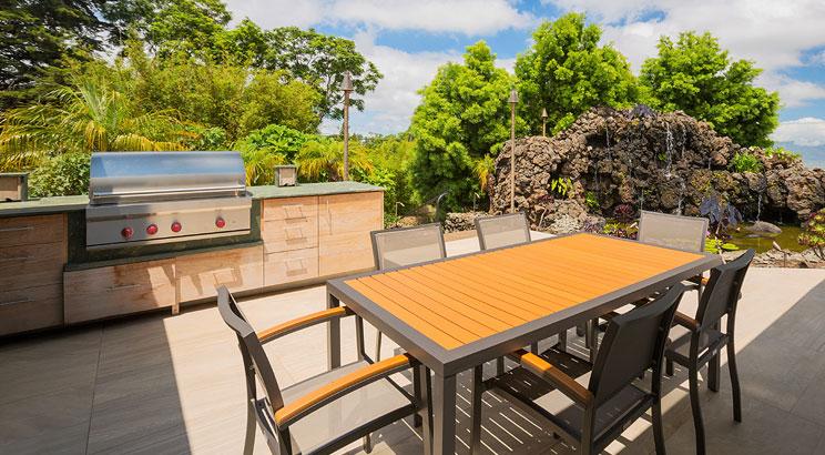Building Your Outdoor Kitchen - Flooring