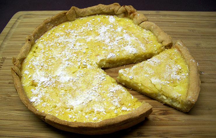 Irish Canadian Food - Lemon Curd Cheesecake Recipe