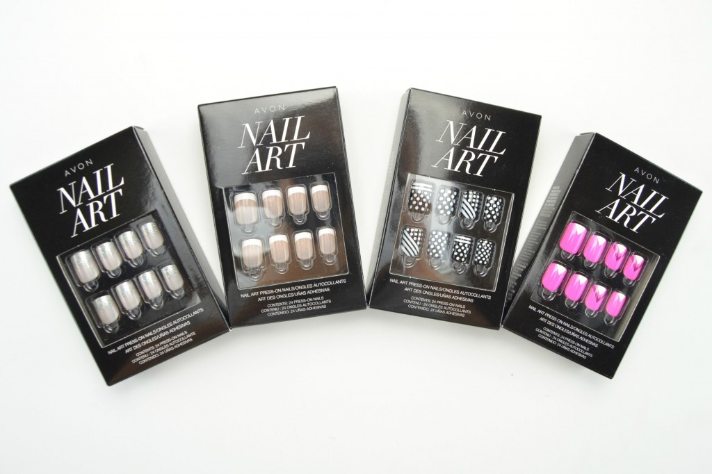 Avon Press On Nails Canadian Beauty Ger