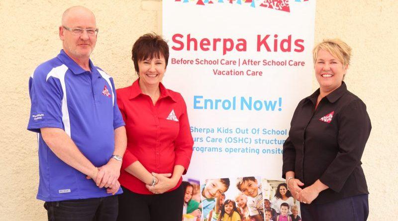 Vicki Prout (AUS), Dawn Englebrecht (NZ) John Miles (IRE) Sherpa Kids Event