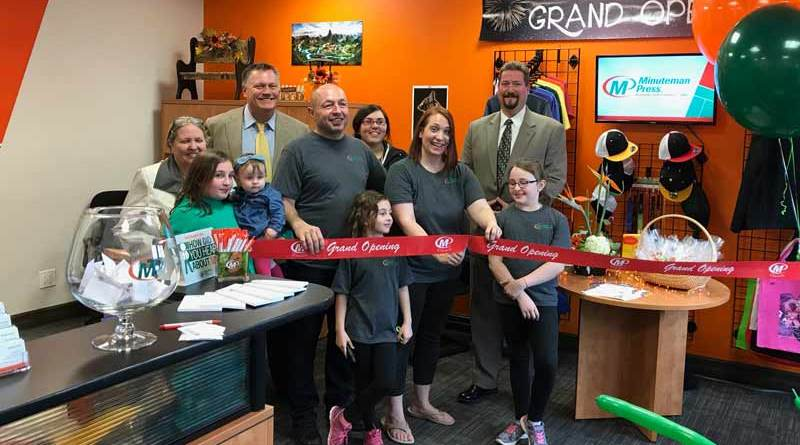 Minuteman Press Edmonton Franchisees Carmen and Erick Hofer Talk Printing Business Ownership, Fulfilling Custom Orders and Giving Back as They Celebrate One Year