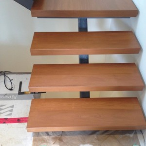 Hand crafted Wood Stair
