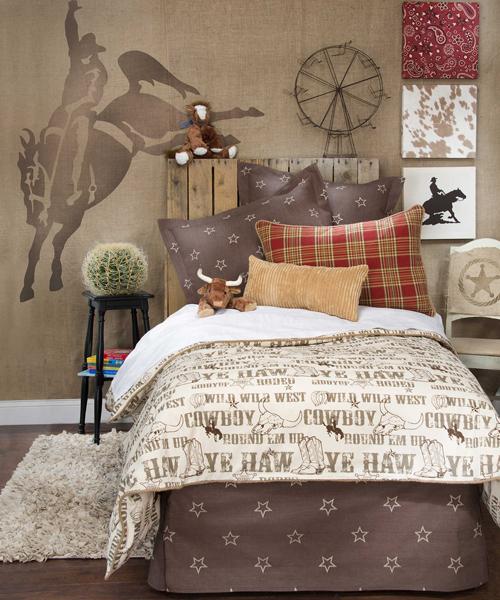Cheyenne Turquoise Western Fl Bedding