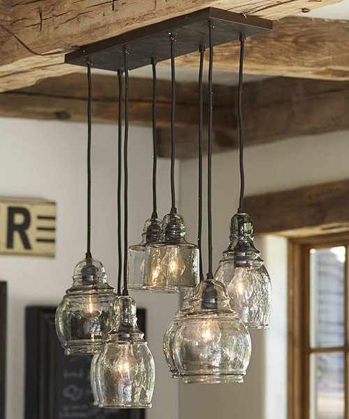 Pendants 8 Rustic Chandeliers
