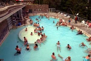 Banff's upper hot springs.