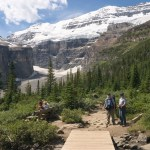 Just one of the beautiful views from the Plain of 6 Glaciers