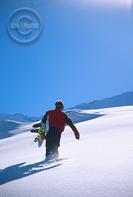 Powder hounds will fall in love with the Canadian Rockies.