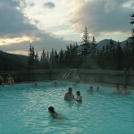 Take a relaxing dip in the Miette Hot Springs.