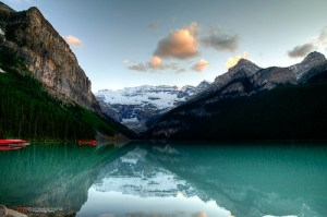 Lake Louise in Banff National Park, Banff, Alberta