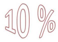 Tithe or 10 %