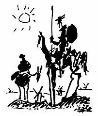Pablo Picasso's Don Quixote