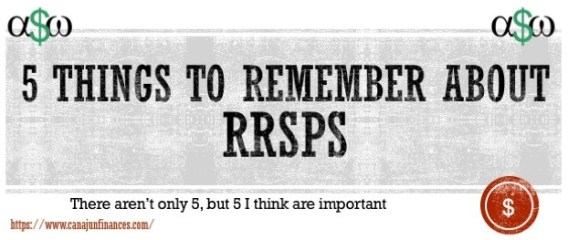 things to remember about rrsps