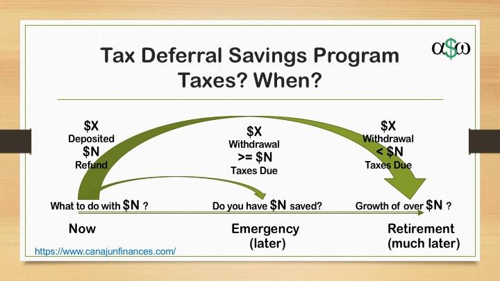 Tax Deferral Savings Plan ( your RRSP )