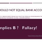 Bank Accounts and Loans